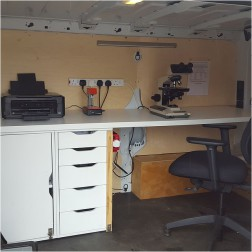 A mobile working Laboratory